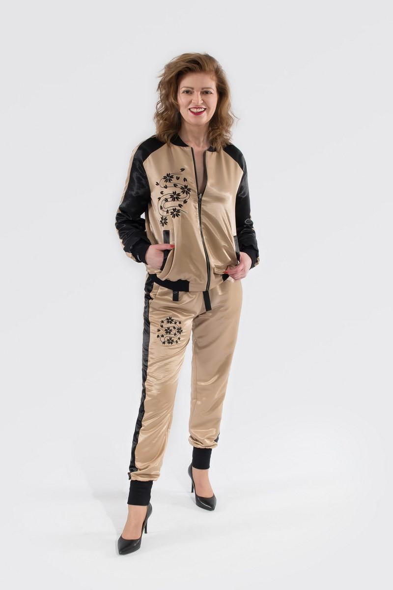 Wygodne spodnie Sindbadki z haftem